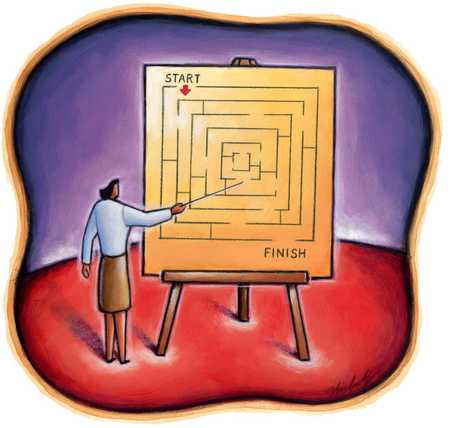 Instructor/Diagram Of Maze