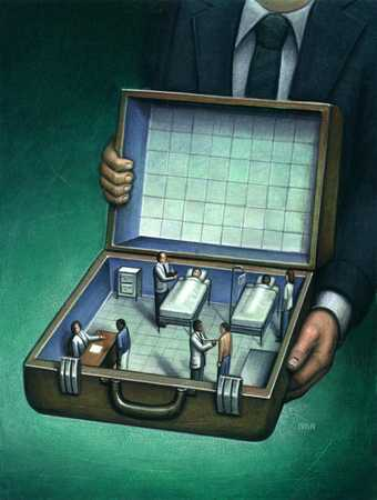 Healthcare briefcase