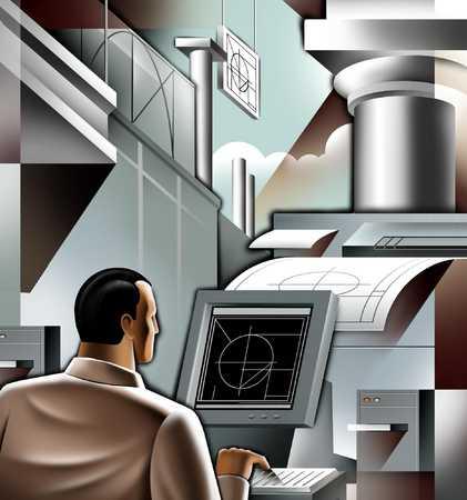 Futuristic Architect