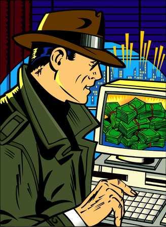 Online Crime Detective