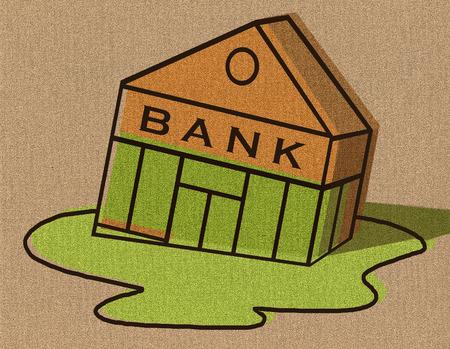 Sinking bank