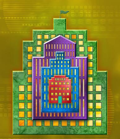 Buildings within buildings