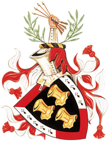 The armorial bearings granted to former U.S. President John F. Kennedy by the government of the Republic of Ireland.
