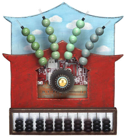 Mechanical abacus