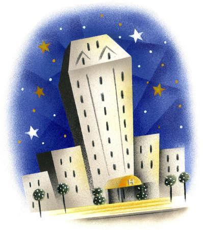 Highrise hotel