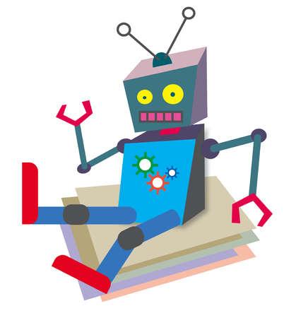 Sitting robot
