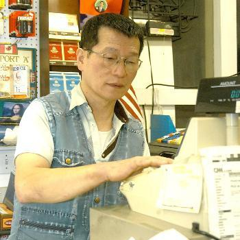Owner of Louie's Superette CHENG-SAN CHEN was robbed at gunpoint on Friday evening.  Chen, who said he was not scared by the robbery, estimates that the alleged robber stole between $100 and $200.