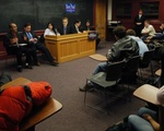 REPUBLICAN STUDENTS LEAD MOCK DEBATE