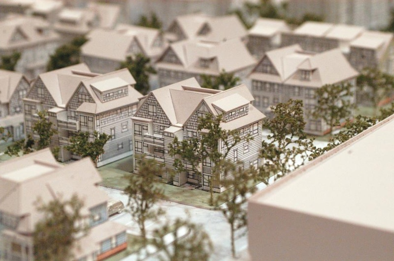 model of charlesview redevelopment