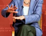 Nancy Pelosi speaks at IOP Forum