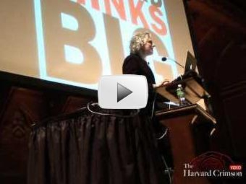 Harvard Thinks Big: 10 Professors, 10 Minutes to Speak