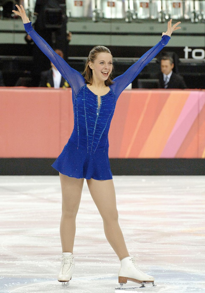 Emily A. Hughes '11 performs her short skate program at the 2006 Winter Olympics in Torino, Italy, where she placed 7th overall. Hughes took a leave of absence from Harvard last semester with hopes of earning a spot on the 2010 U.S. Olympic figure skating team, though she ultimately did not qualify.