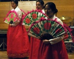 Korean Association, fan dancing