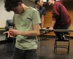 Pillowman Rehearsal