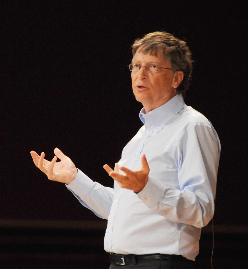 Bill Gates Visits Harvard