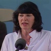 Christiane Amanpour at Harvard Class Day 2010