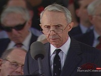 Former Supreme Court Justice David Souter's Commencement Remarks