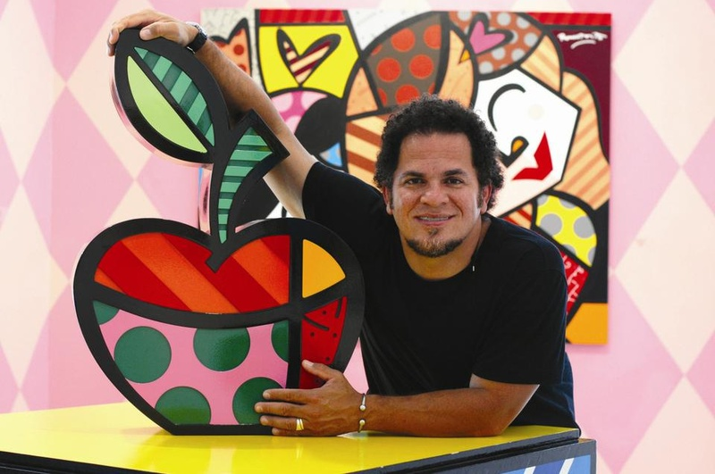 Portrait Of An Artist Romero Britto Arts The Harvard Interiors Inside Ideas Interiors design about Everything [magnanprojects.com]