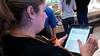 iPads at Au Bon Pain