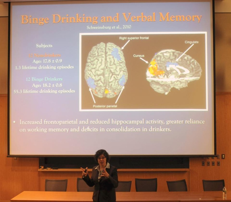 Dr. Marisa Silveri talks about binge drinking.