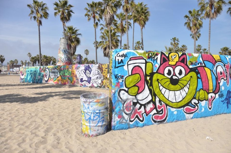 Venice Beach Graffiti Wall