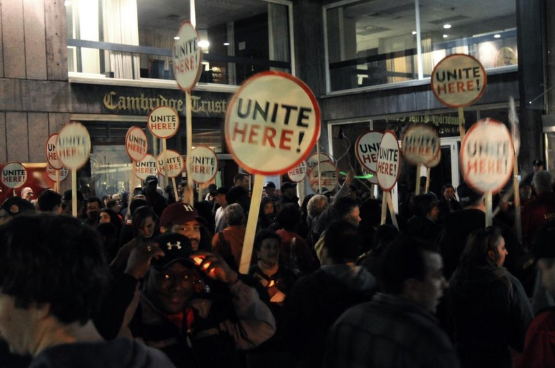 Unite Here Rally