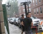 Hurricane Irene Hits Cambridge