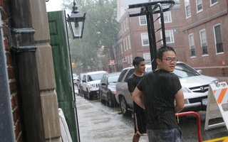 Hurricane Irene Hits Cambridge