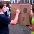 Students Break Box Fort World Record