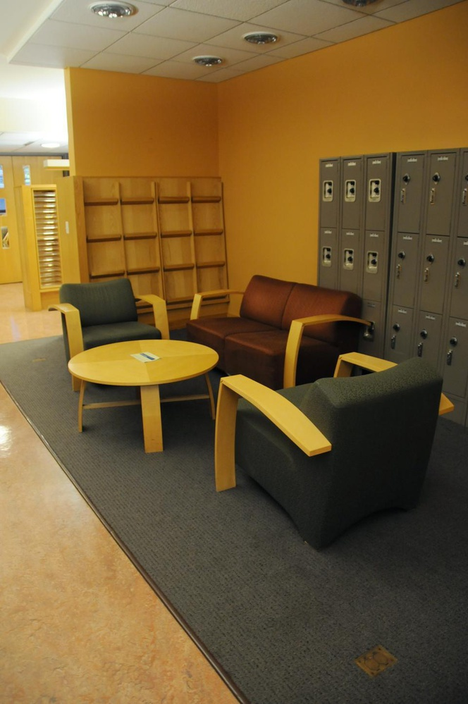 The space in Boylston Hall will open as the new BGLTQ student lounge in the spring.