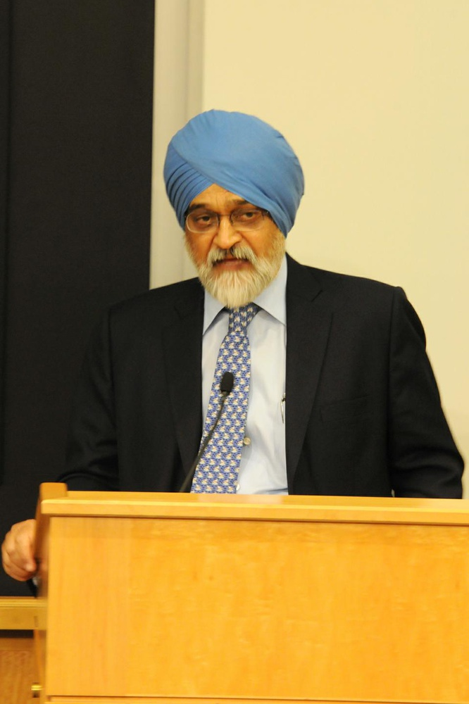 Montek Singh Ahluwali, a deputy chairman of the Planning Commission for India, describes India's current economic situation as well as its future challenges and goals