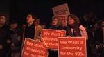 Occupy Harvard's First Night
