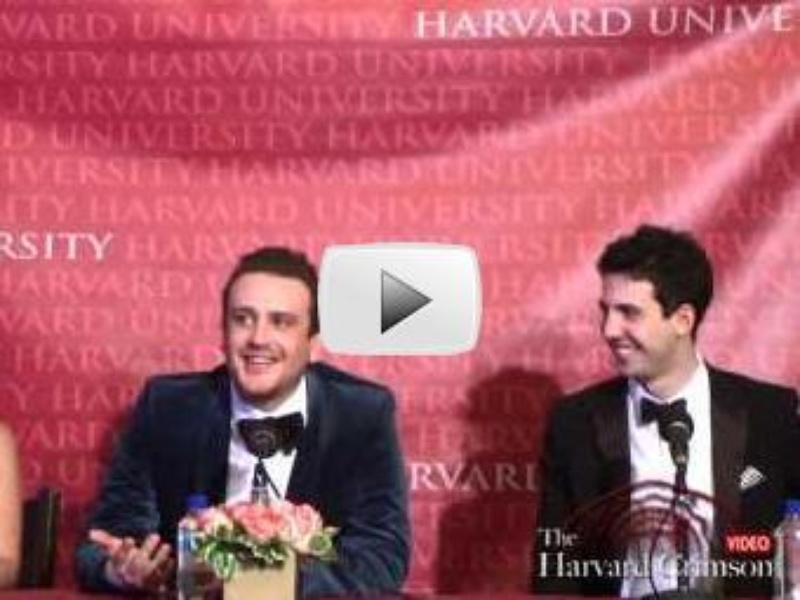 Jason Segel, Hasty Pudding Man of the Year 2012