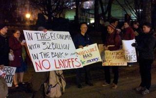 Lamont Protest