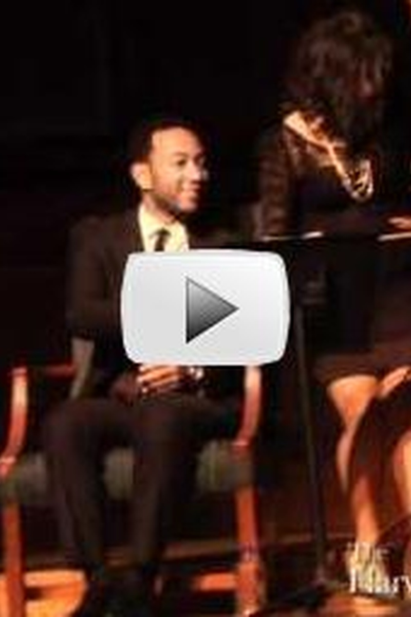 John Legend at Harvard's Cultural Rhythms 2012