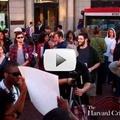 Harvard Students Rally on Behalf of Trayvon Martin