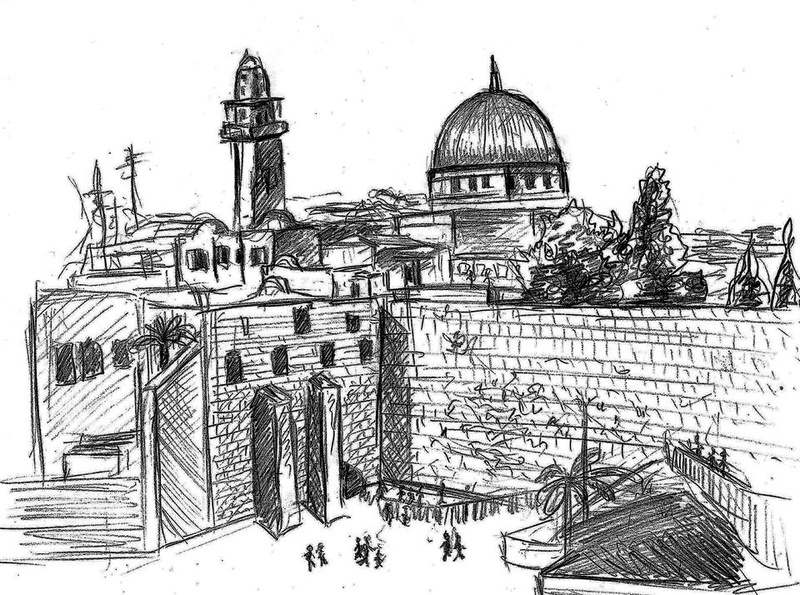 Line Art Jerusalem : Delisle s 'jerusalem a compelling portrait of conflict