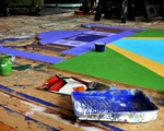 Inside look: Set of the Freshman Musical