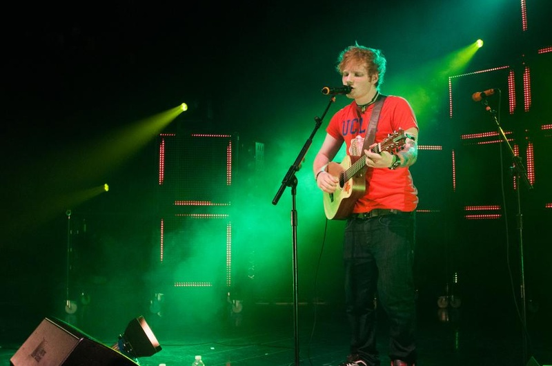 Ed Sheeran at House of Blues Boston