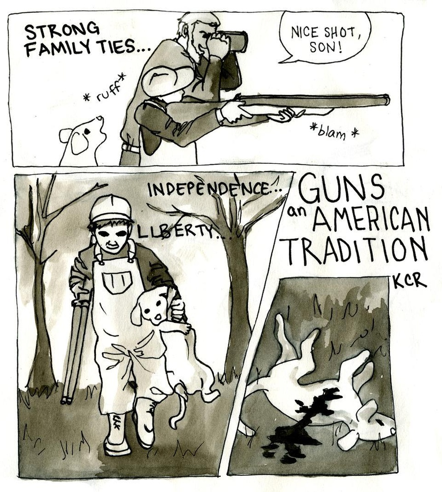 Guns: An American Tradition