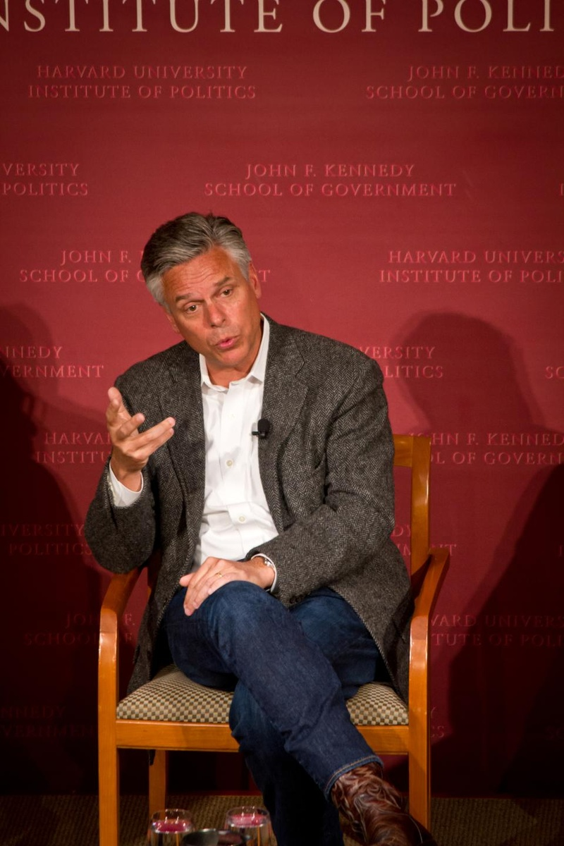 Jon Huntsman Speaks at IOP