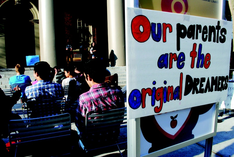 Students Gather at Speak-Out on Immigration Reform