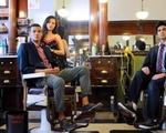 Eriko, Eli , and Saad at the Barber Shop