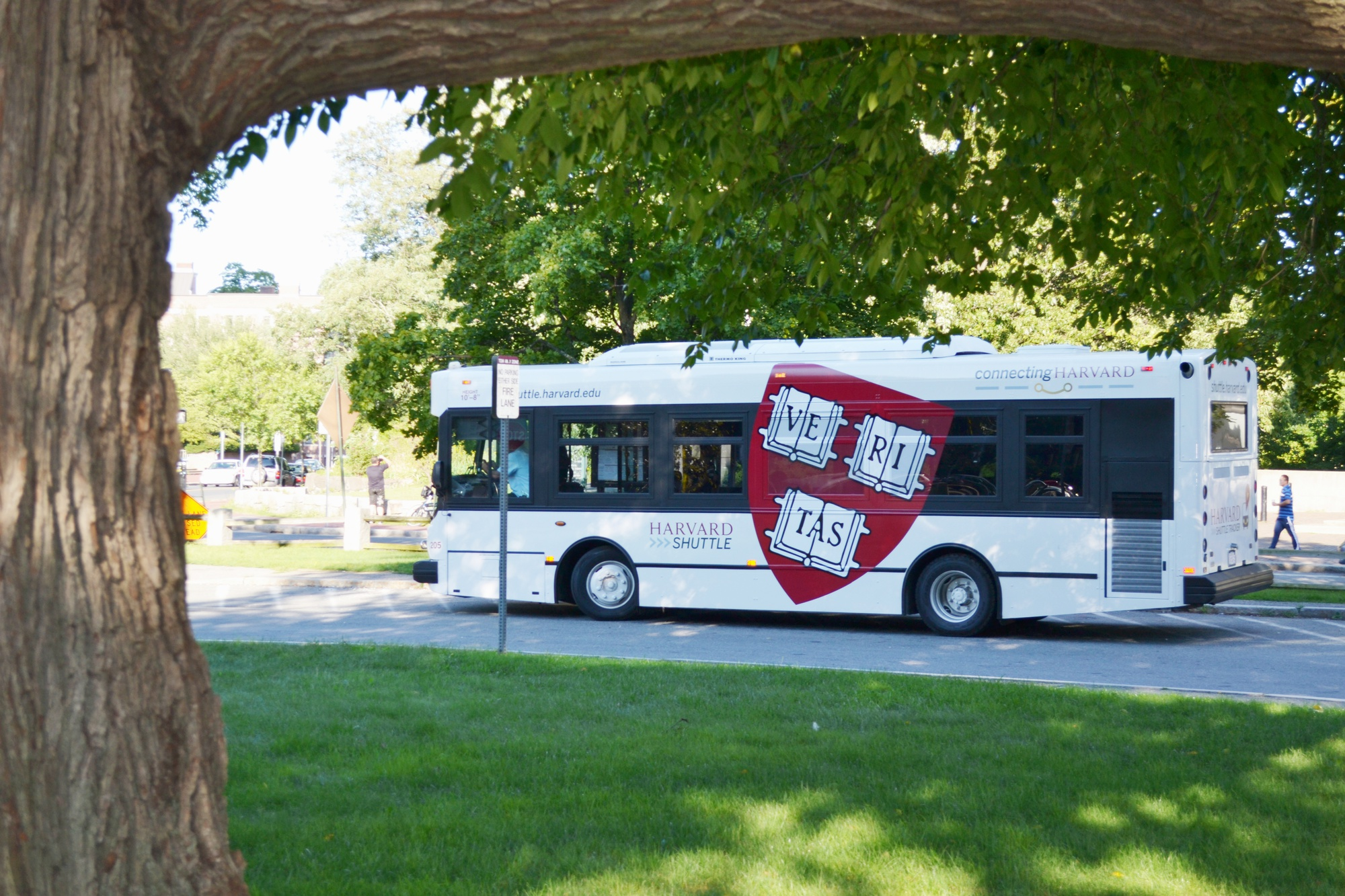 The University shuttle serves as a new resource to Allston residents as the new school year gets underway.