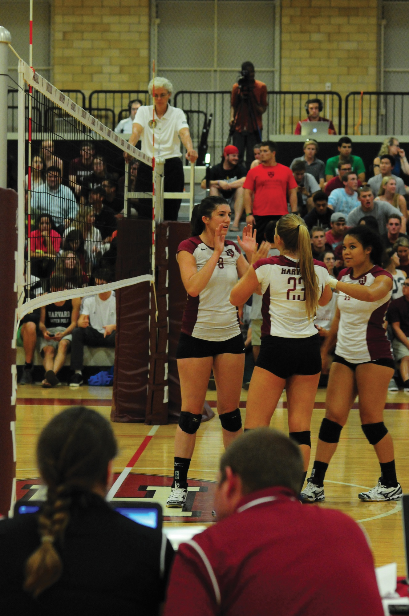 In an opening weekend that saw just three Harvard victories in 13 games, women's volleyball was a bright spot, starting its season 2-0.