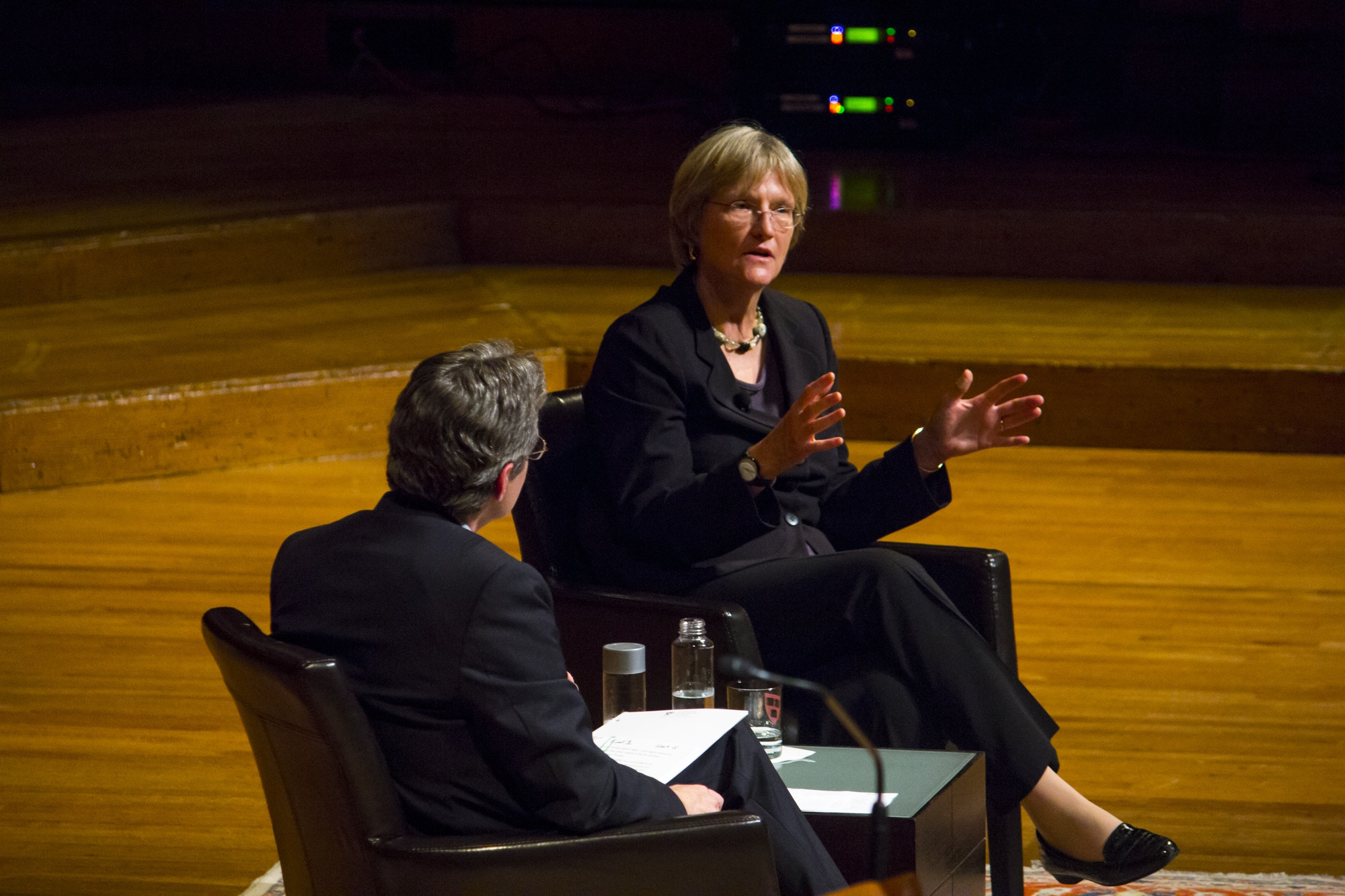 University President Drew G. Faust talks about the state of the University in September 2013 and what the upcoming Harvard Campaign to raise funds can achieve.