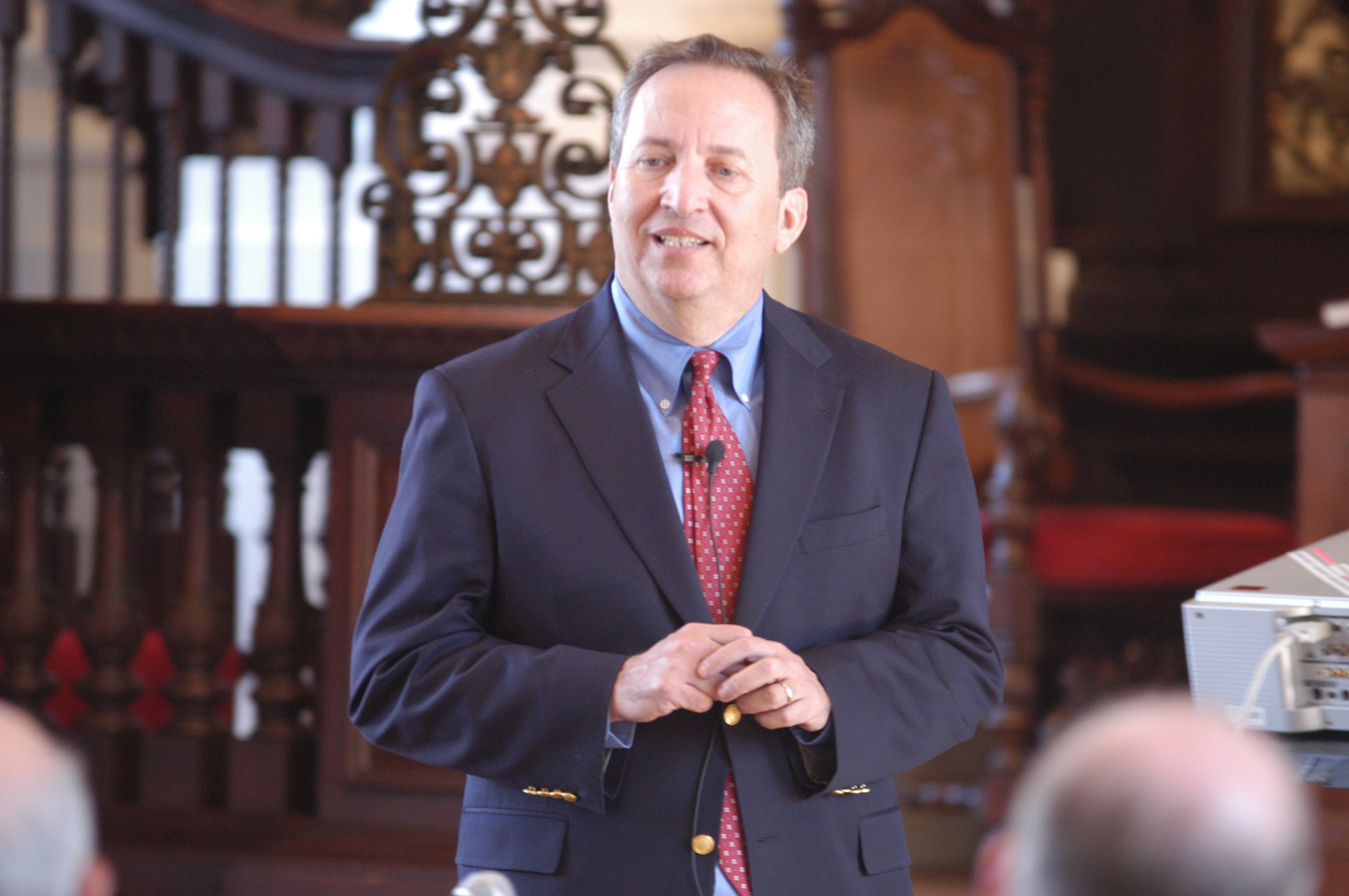 Former University President Larry Summers, pictured in a Crimson file photo, has withdrawn his name from consideration for Federal Reserve Chair.