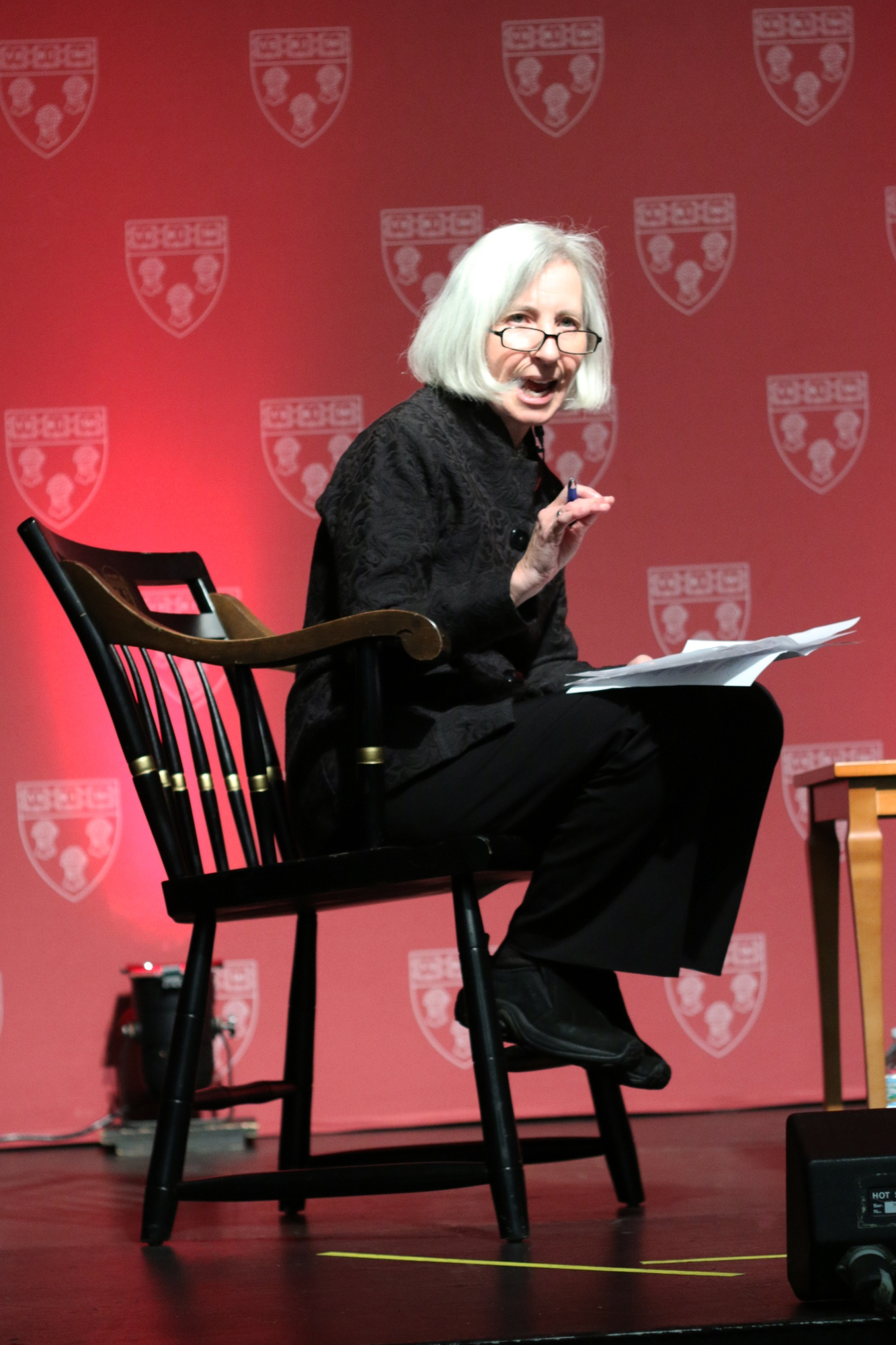 Harvard Law School Dean Martha L. Minow asks Senator Elizabeth A. Warren about the creation of the Consumer Financial Protection Bureau. Celebration 60 celebrates the 60th anniversary of the first women graduates of Harvard Law School.