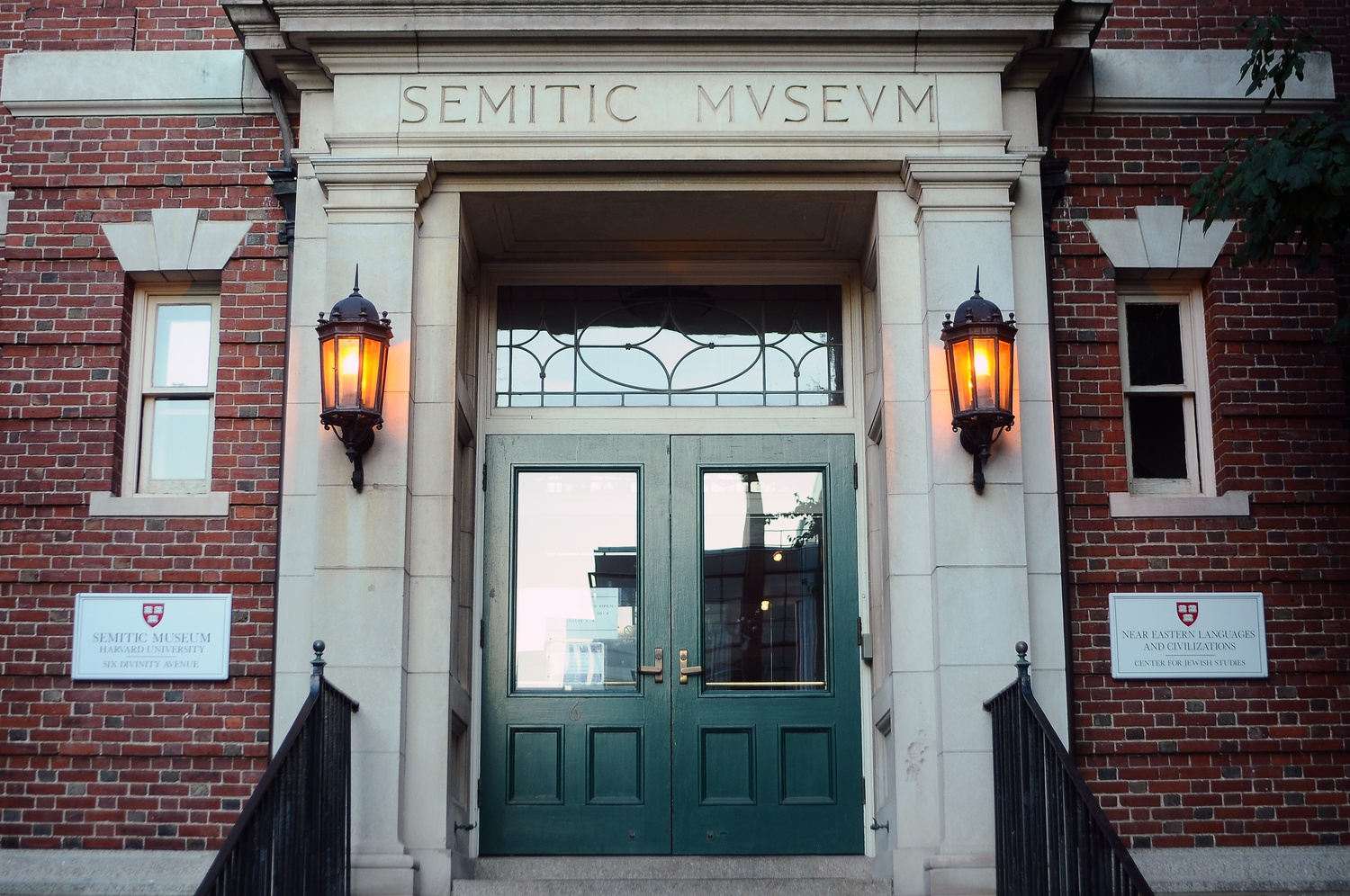The Semitic Museum on Divinity Ave., home to the Near Eastern Languages and Civilizations department and the Ashkelon excavation along with its museum galleries, remains open as an elevator is added to the building this year.