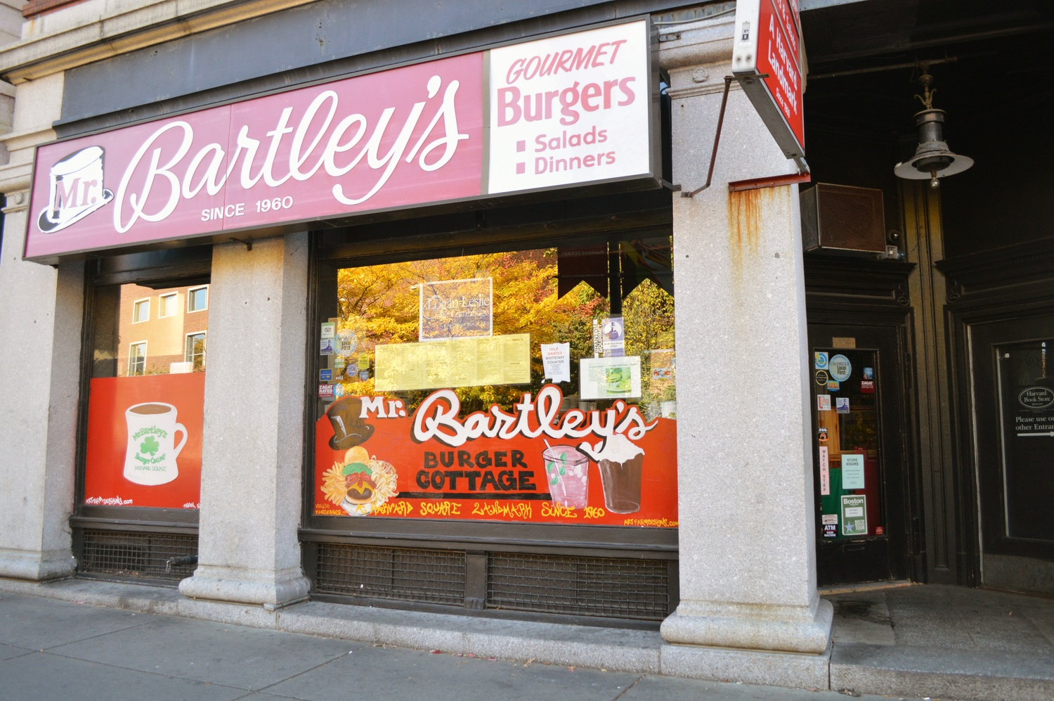 Bartley's Burgers is famous for having creatively named menu items. In this piece, FM comes up with Bartley's Burgers: Professor Edition.